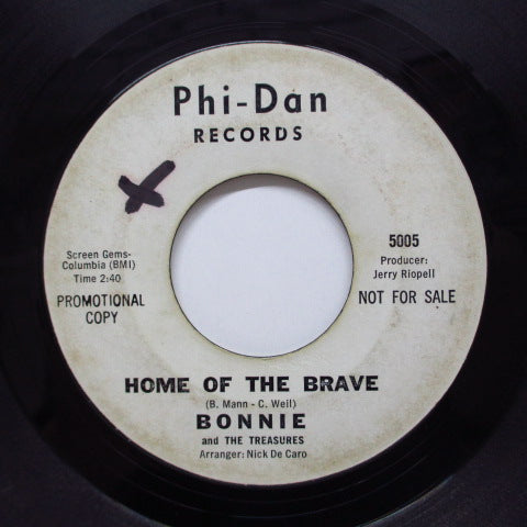 BONNIE & THE TREASURES - Home Of The Brave (Promo)