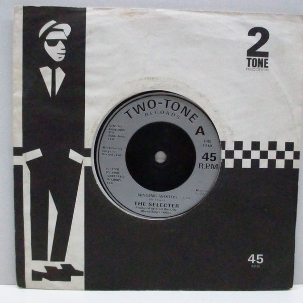 "SELECTER, THE - Missing Words (UK Re Misprint Lbl.7""+CS)"