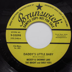 MICKEY & SHONNIE LANE - Daddy's Little Baby (Promo)