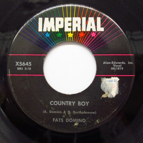 FATS DOMINO - Country Boy / If You Need Me ('60 Orig.)