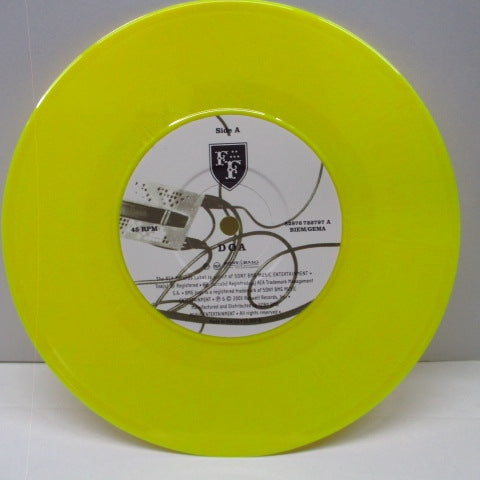 "FOO FIGHTERS - DOA (EU Ltd.Yellow Vinyl 7"")"