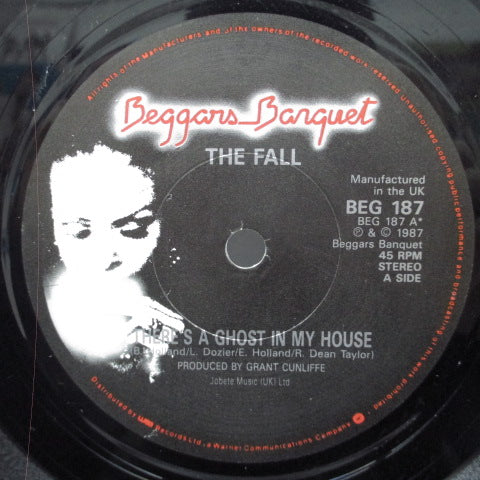 "FALL, THE - There's A Ghost In My House (UK Orig.7"")"