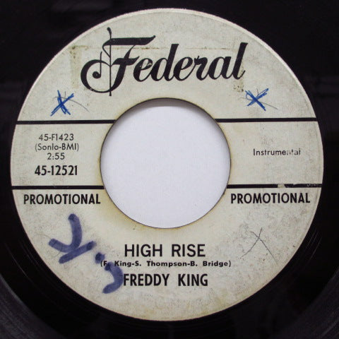 FREDDY KING - High Rise (Promo)