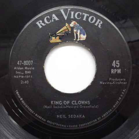 NEIL SEDAKA - King Of Clowns (US Orig+PS)