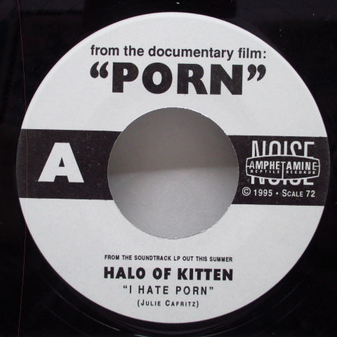 "HALO OF KITTEN / HAMMERHEAD - Porn 1 (US Orig. 7"")"