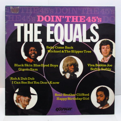 EQUALS - Doin' The 45's (UK Orig.Stereo/CS)