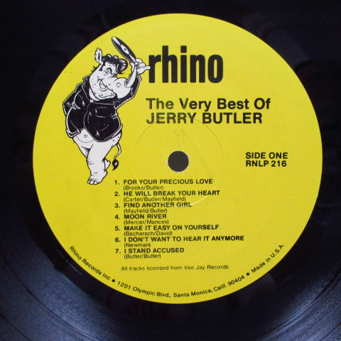 JERRY BUTLER - The Best Of Jerry Buttler (US Orig.LP)