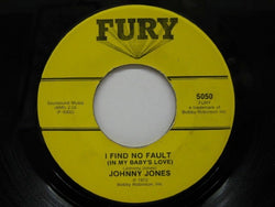 JOHNNY JONES - I Find No Fault / Tennessee Waltz
