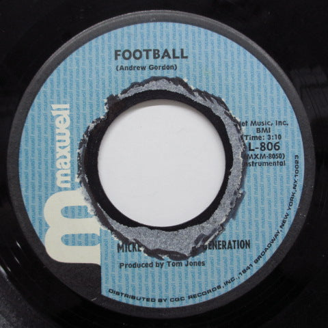 MICKEY & THE SOUL GENERATION - Football (Orig)