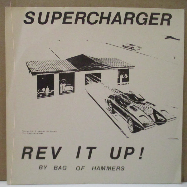 "SUPERCHARGER - Rev It Up! (US Orig.7""+白黒PS)"