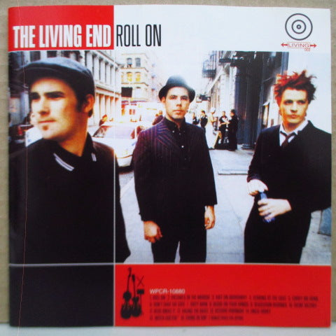 LIVING END - Roll On (Japan Orig.CD/帯欠)