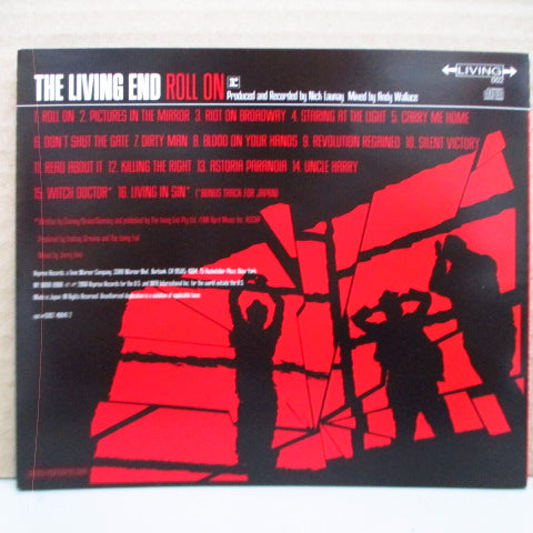 LIVING END-Roll On (Japan Orig.CD/obi Missing)
