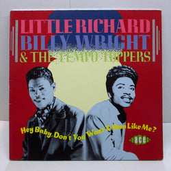 LITTLE RICHARD / BILLY WRIGHT & THE TEMPO TOPPERS - Hey Baby, Don't You Want A Man Like Me ? (UK Orig.LP)