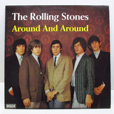 ROLLING STONES - Around And Around (GERMAN 70's Reissue Stereo)