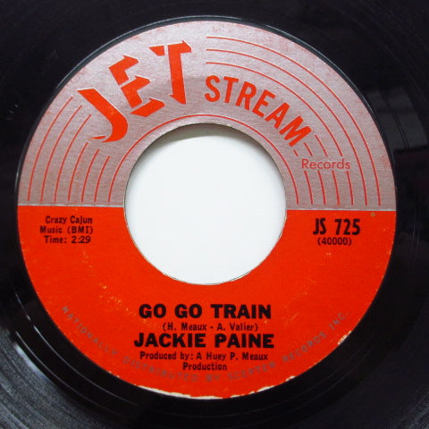 JACKIE PAINE (PAYNE) - Go Go Train / I'll Be Home