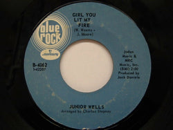 JUNIOR WELLS - Girl You Lit My Fire