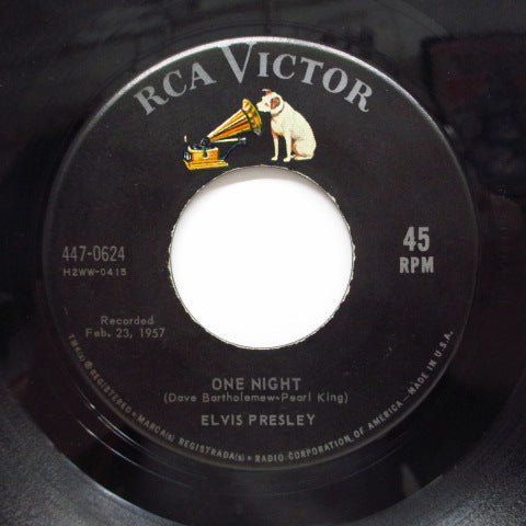 ELVIS PRESLEY - I Got Stung/One Night (US '59 Reissue)
