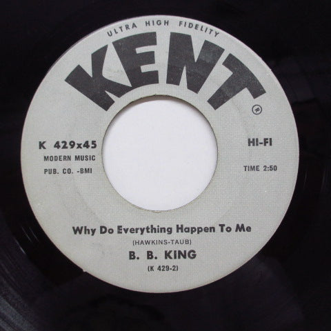 B.B.KING - Why Do Everything Happen To Me  (Orig)