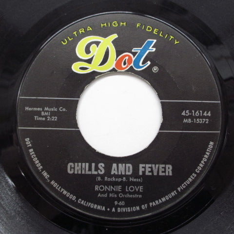 RONNIE LOVE (ロニー・ラブ)  - Chills & Fever (Dot-16144)