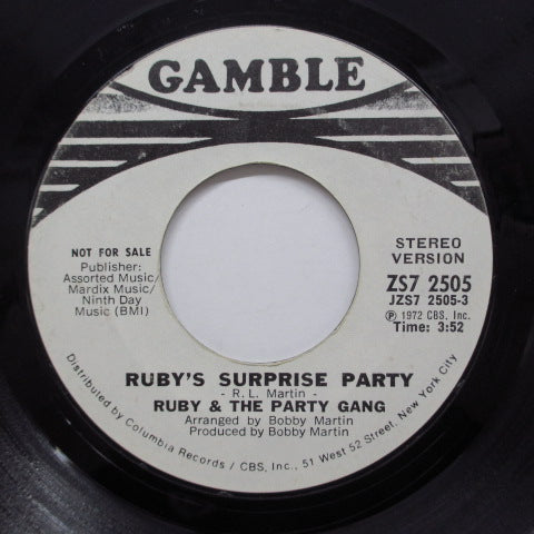 RUBY & THE PARTY GANG (ルビィ&パーティ・ギャング)  - Ruby's Surprise Party (Promo)