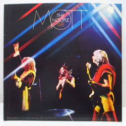 MOTT THE HOOPLE - 華麗なる煽動者 - Mott The Hoople Live (Japan Orig.LP)