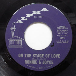 RONNIE & JOYCE (ロニー&ジョイス)  - On The Stage Of Love (Orig)