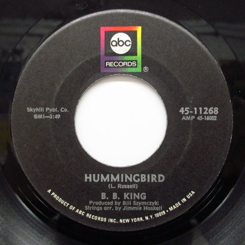 B.B.KING - Ask Me No Questions / Hummingbird