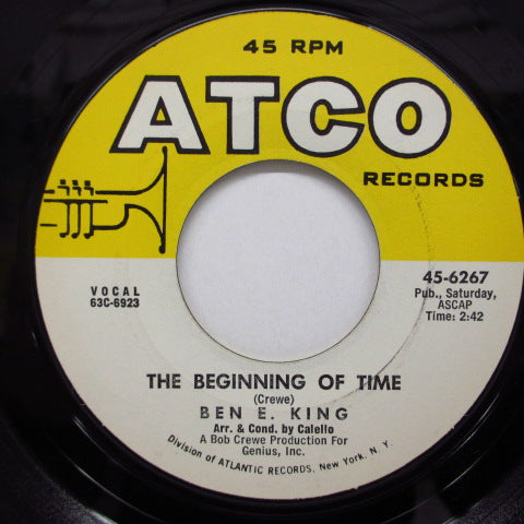 BEN E.KING - The Beginning Of Time (US Orig.)