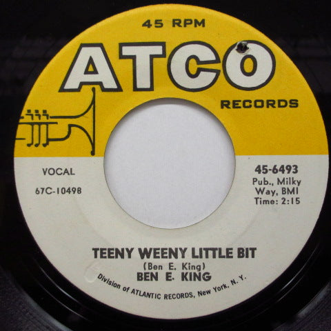 BEN E.KING - Teeny Weeny Little Bit / Katherine
