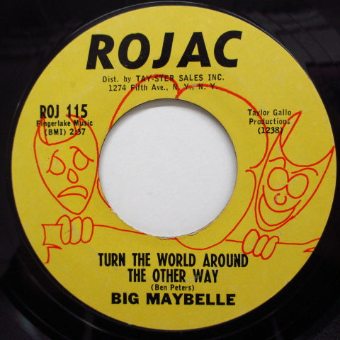 BIG MAYBELLE - I Can't Wait Any Longer (Orig)