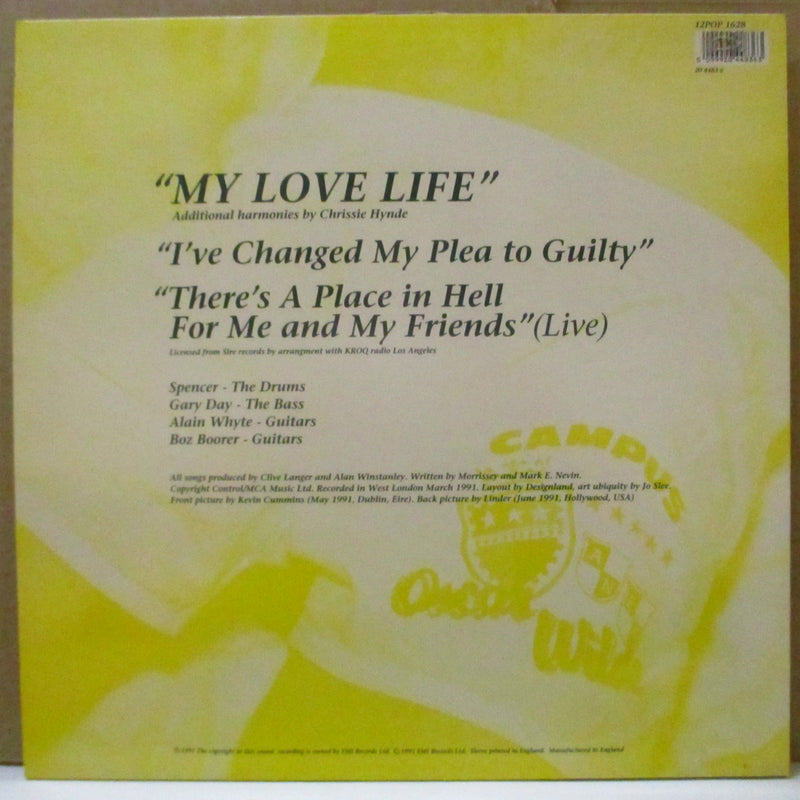 "MORRISSEY (モリッシー)  - My Love Life +2 (UK Orig.12"")"