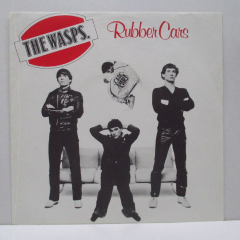 "WASPS, THE - Rubber Cars (UK Orig.7"")"