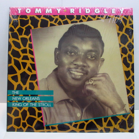 TOMMY RIDGLEY - The New Orleans King Of The Stroll (US Orig.LP)