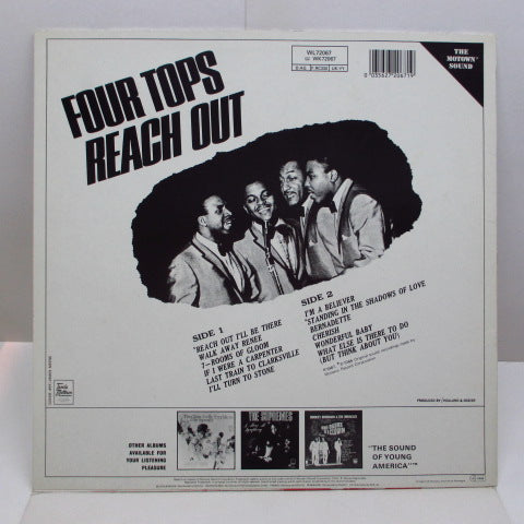 FOUR TOPS - Reach Out (EURO 80's Reissue STEREO/Barcord Sleeve)