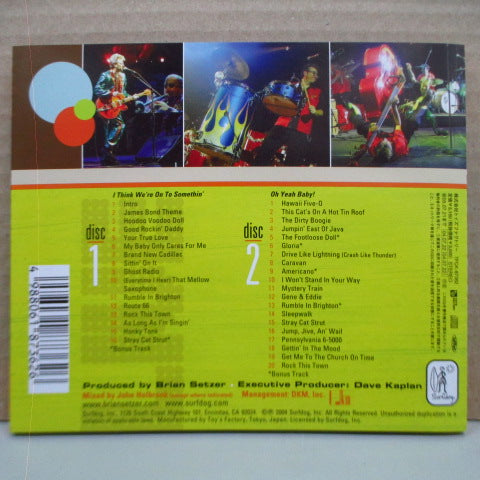BRIAN SETZER ORCHESTRA-The Ultimate Collection-Recorded Live (Japan Orig.2xCD)