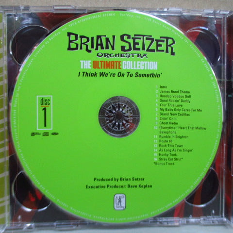 BRIAN SETZER ORCHESTRA - The Ultimate Collection - Recorded Live (Japan Orig.2xCD)