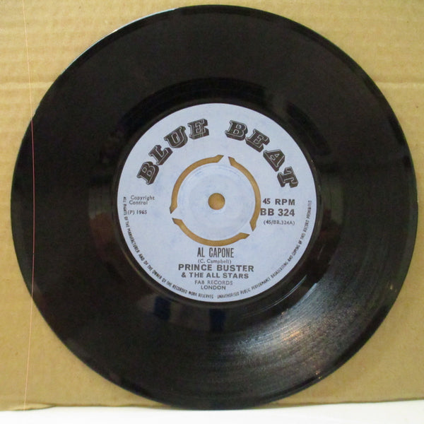 "PRINCE BUSTER - Al Capone (UK 60's Re Light Blue Lbl.Round Cente 7"")"