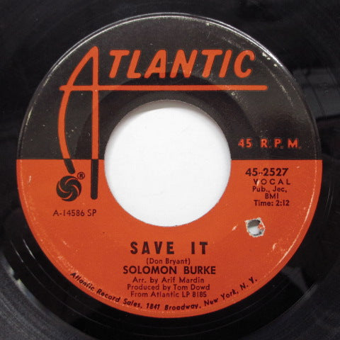 SOLOMON BURKE - Save It (Orig)