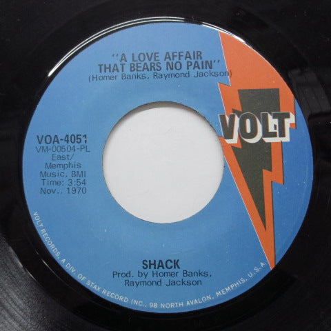 SHACK - Too Many Lovers (Orig)