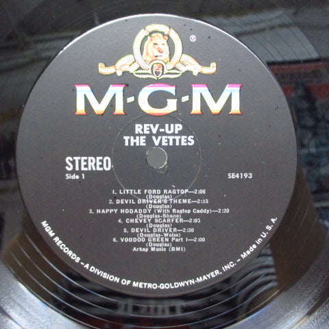 VETTES - Rev Up (US Orig.Stereo LP)