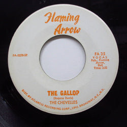 CHEVELLES / GLORIA WALKER - The Gallop (Promo Orange Script Logo)