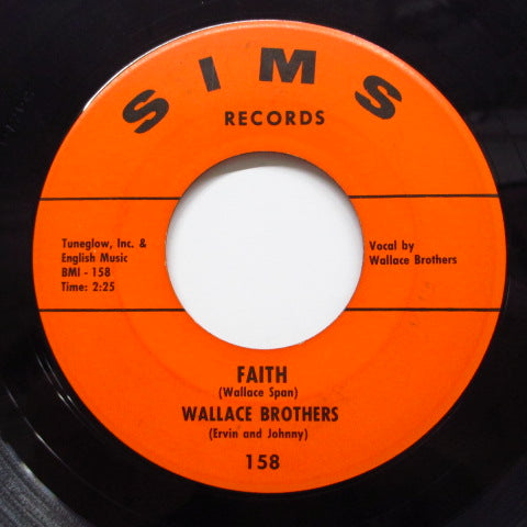 WALLACE BROTHERS - I'll Let Nothing Separate Me / Faith