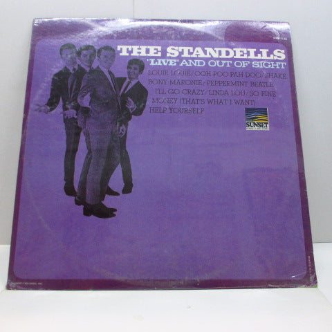 STANDELLS - Live & Out Of Sight (US '66 Re Stereo LP/Seald)