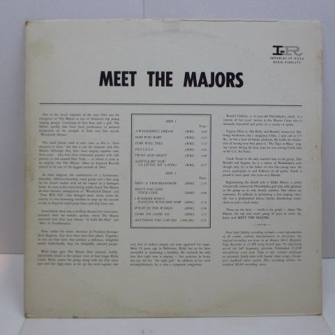 MAJORS - Meet The Majors (Orig.Mono)
