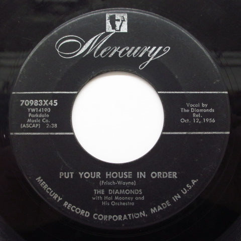 DIAMONDS - Put Your House In Order