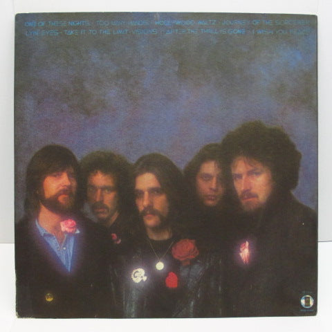 EAGLES - One Of These Nights (US:Re/7E-1039-A-SP / 7E-1039-B-SPラベ盤)