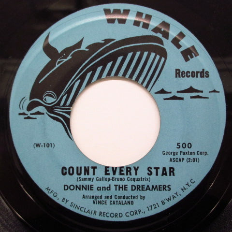DONNIE & THE DREAMERS - Count Every Star / Dorothy