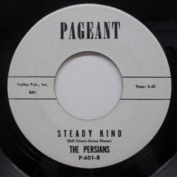 PERSIANS - Steady Kind (US Promo)