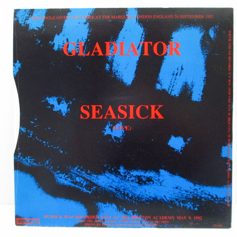 "JESUS LIZARD, THE - Gladiator (UK Orig. 7"")"