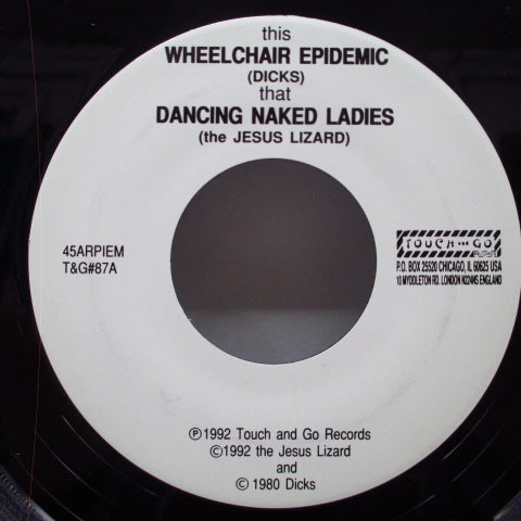 "JESUS LIZARD, THE - Wheelchair Epidemic (US Orig.7"")"
